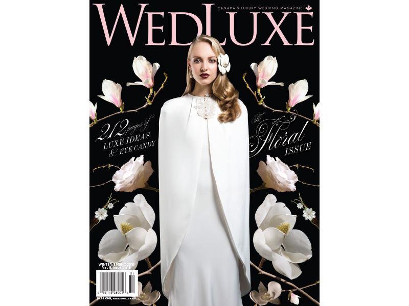 WedLuxe Winter/Spring 2015