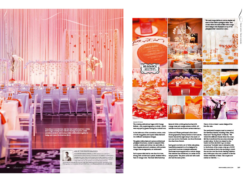 WedLuxe - Lubna & Wisam